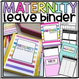 Long Term Sub/Supply Teacher Survival Notebook/Binder- EDITABLE!