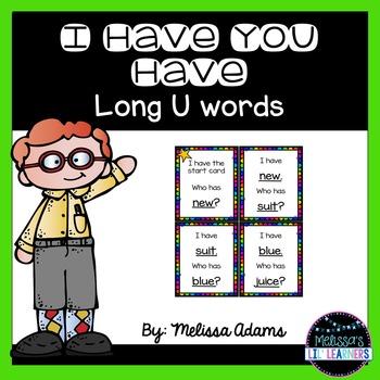 Long U: I Have, Who Has?