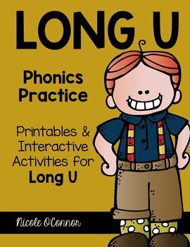 Long U Interactive Phonics Practice