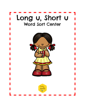 Long U, Short U Word Sort Center