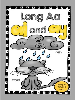 Long Vowel A Teams - ai and ay Word Work!