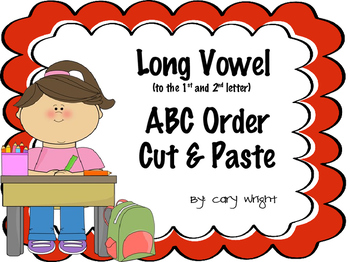 Long Vowel ABC Order