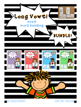 Long Vowel CVCE sound boxes BUNDLE!