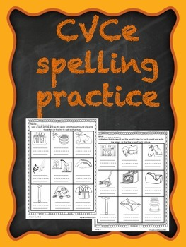 Long Vowel (CVCe) Spelling Practice