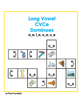 Long Vowel CVCe dominoes