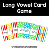 Long Vowel Card Game