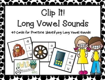 Long Vowel Clip It!