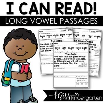 Long Vowel Fluency Passages