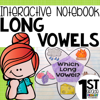 Long Vowel Interactive Notebook Activities