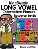 Long Vowel Interactive Phonics Resource Bundle
