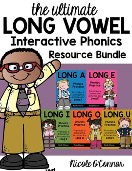 Long Vowel Interactive Phonics Resource Bundle!