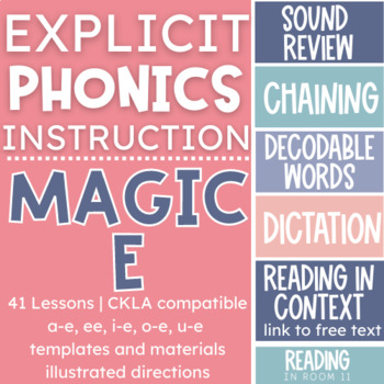 Long Vowel Mini Lessons