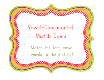Long Vowel Match Up