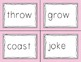 Long Vowel O: Slap Game