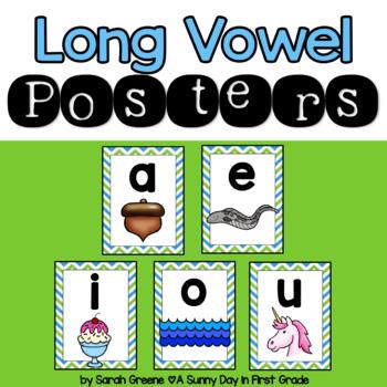 Long Vowel Poster Set!