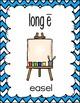 Long Vowel Posters (chevron)