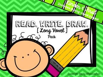 {Read. Write. Draw.} / long vowel edition /
