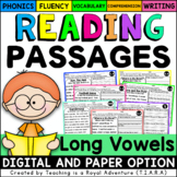 Long Vowel Reading Passages - Fluency and Skill Based Comp