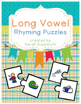 Long Vowel Rhyming Puzzles