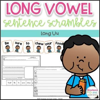 Long Vowel Sentence Scrambles - Uu