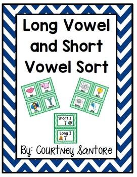 Long Vowel & Short Vowel Sort