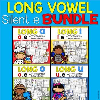 Long Vowel Silent E ~ Activity Pack BUNDLE