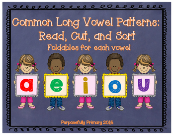 Vowel Sounds: Long Vowel Sorts