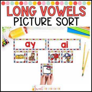 Long Vowel Sounds Picture Sort