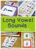 Long Vowel Sounds Resource Pack