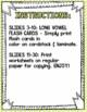 Long Vowel Sounds Worksheets and Flash Cards -Kindergarten