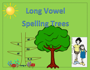 Long Vowels - Spelling Trees