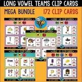 Long Vowel Teams Clip Cards Bundle