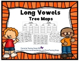 Long Vowel Tree Maps - Cut and Paste - Graphic Organizers