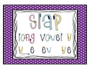 Long Vowel U: Slap Game