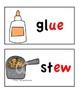 Long Vowel Word Wall Cards (long u)