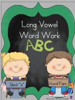Long Vowel Word Work