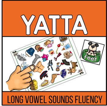 Long Vowel Words Recognition and Fluency YATTA - Color and