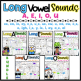 Long Vowel Worksheets {Differentiated*} 60 Pages
