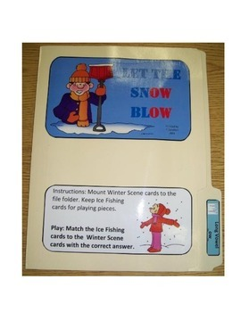 "Long Vowel ""_ow"": File Folder"