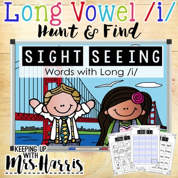 Long Vowel /i/ Hunt & Find Game