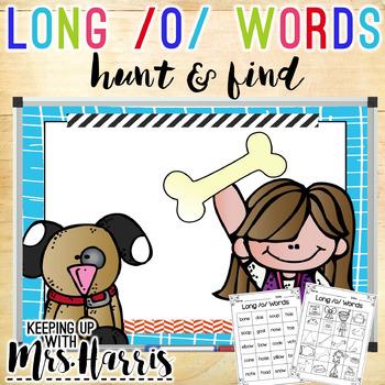 Long Vowel /o/ Hunt & Find Game