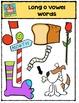 Long Vowel  O Words {P4 Clips Trioriginals Digital Clip Art}
