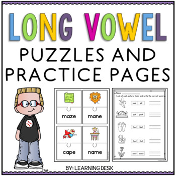 Long Vowel Worksheets and puzzles