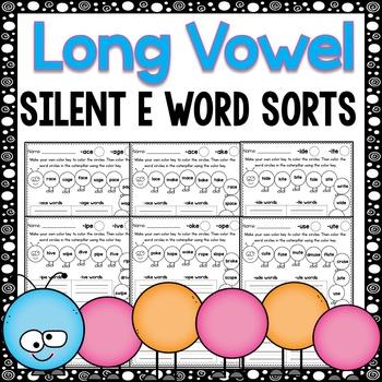 Long Vowel Worksheets - Word Sort