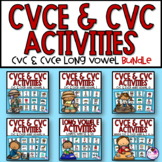 CVCE and EE & EA Long Vowel BUNDLE