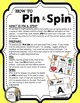 Long Vowels BUNDLE - A Pin & Spin Activity