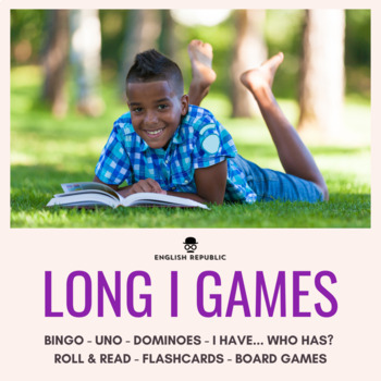 Long Vowels Bingo CVCV - Long I