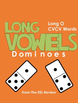 Long Vowels Dominoes CVCV - Long O
