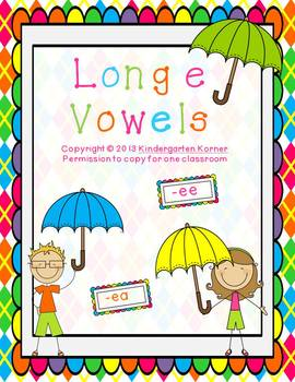 Long Vowels - Letter E