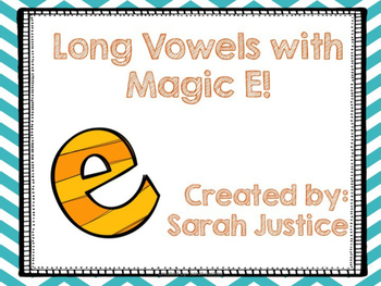 Long Vowels ( Magic E) Interactive power-point